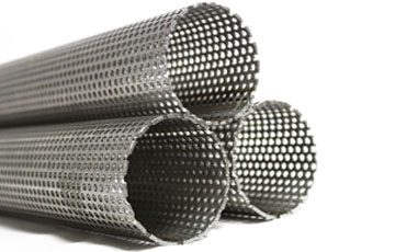 "500mm Exhaust Stainless Steel Perforated Tube 63.5mm 2.5/"" 1//2 meter"